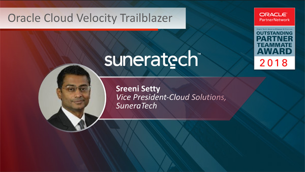 Sreeni Setty - Oracle Cloud Velocity Trailblazer