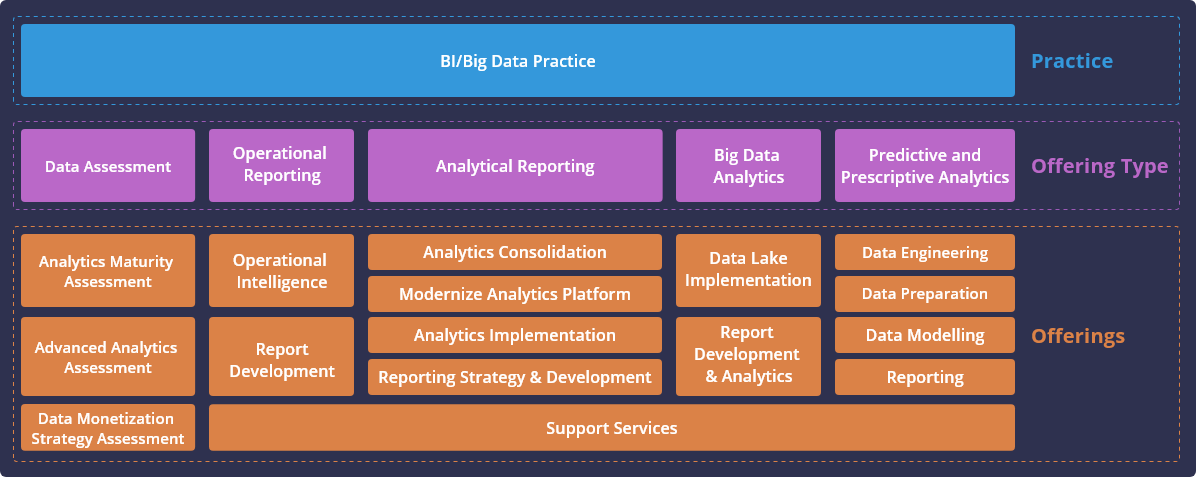 Data and Analytics Capabilities infographic