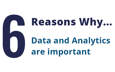 Suneratech - 6 Reasons Why Data and Analytics are important