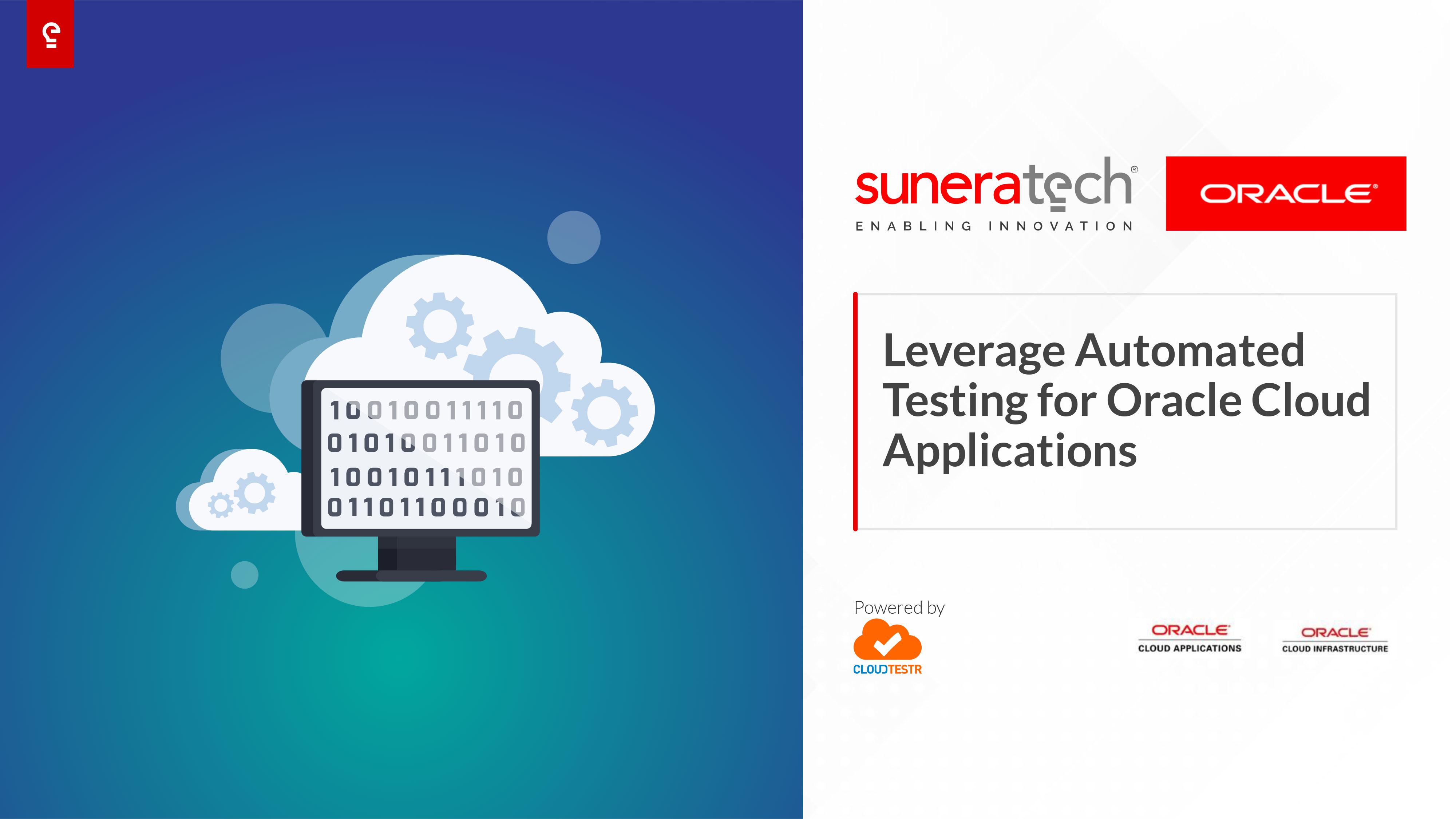 CloudTestr - Automated Testing for Oracle Cloud Applications