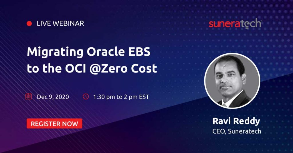 Zero Cost Oracle EBS Migration to OCI